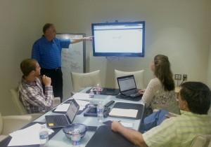 Business Coaching in an Atlanta, GA office